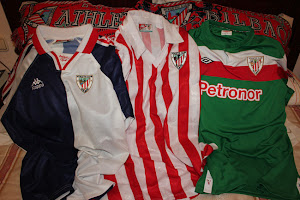 Mis camisetas del Athletic Club de Bilbao