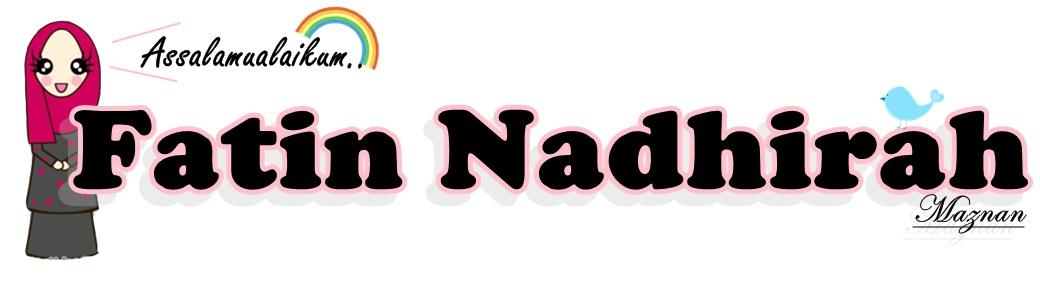 Nur Fatin Nadhirah'M