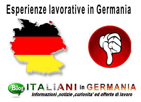 italiani sfruttati in germania ristorazione e gelaterie