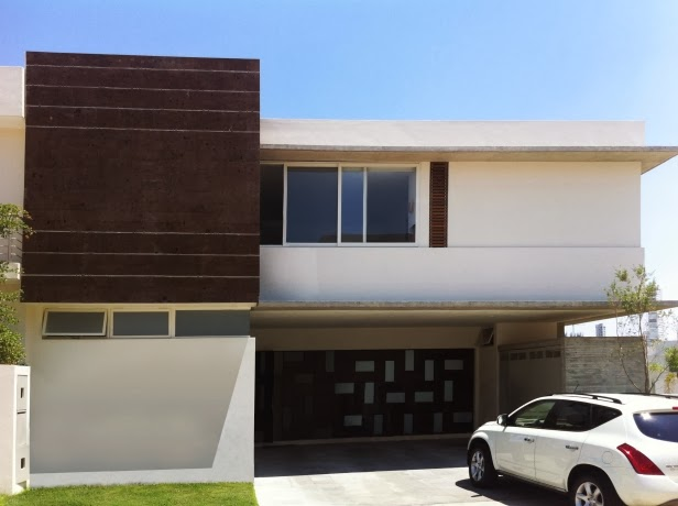 Fachada de casa estilo minimalista casa modernas