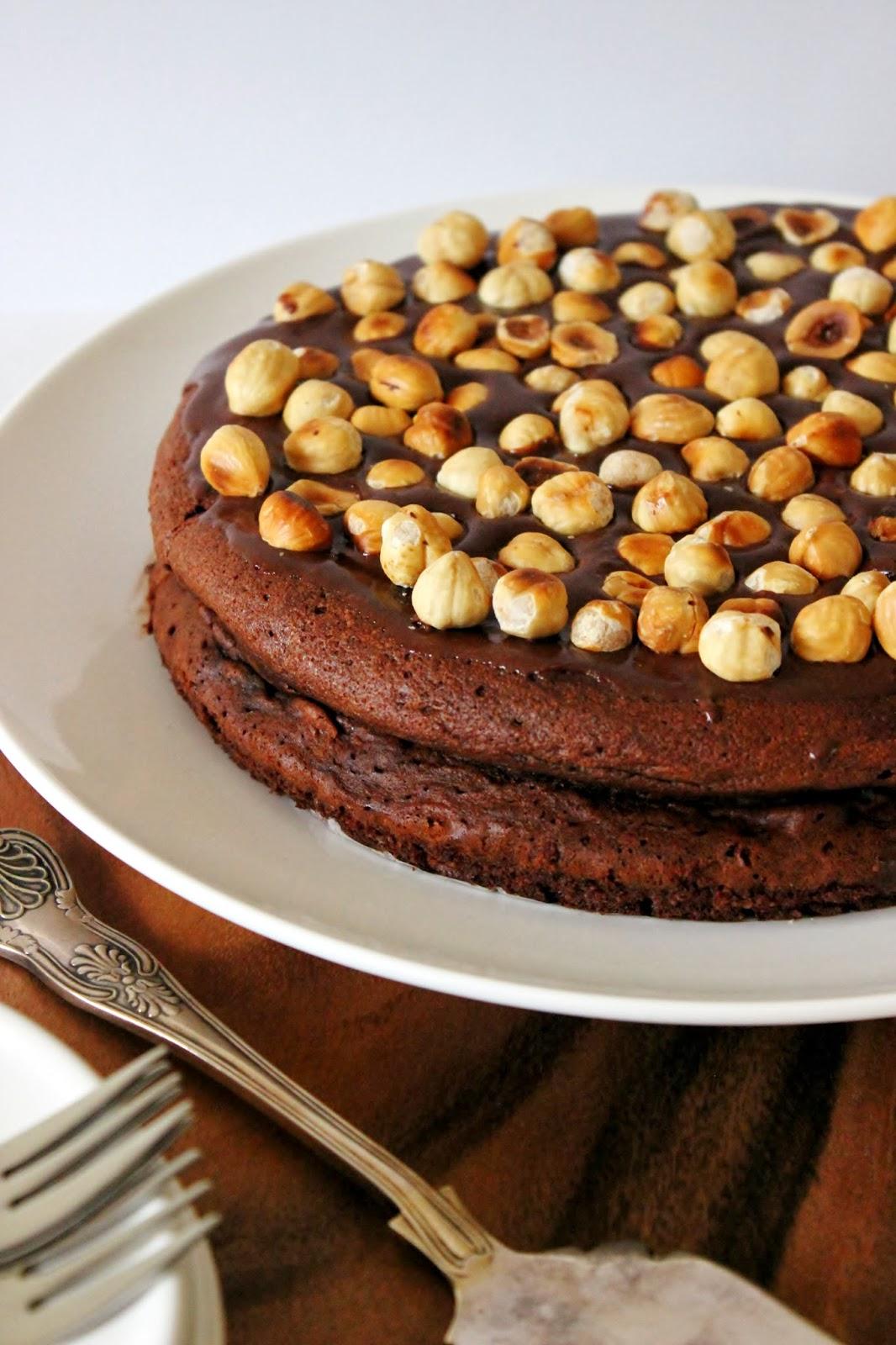 Torta alla gianduia (Nutellataart)