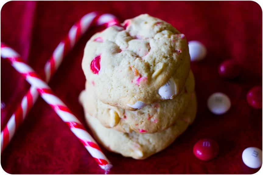 Cupcake Crazy Gem White Chocolate Peppermint M M Cookies