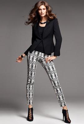 H&M pantalones mujer estampados