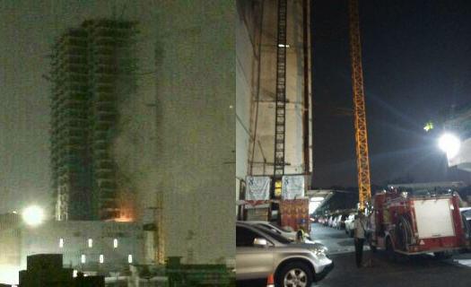 Centre Point Mall Medan Terbakar