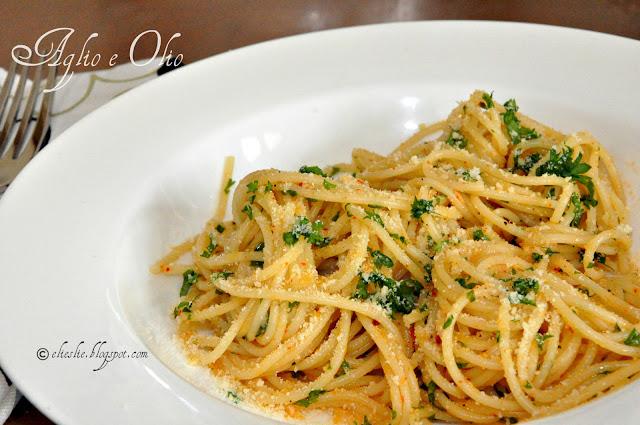 Aglio E Olio (Garlic And Oil Sauce) Recipes — Dishmaps