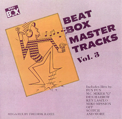 Beat Box Master Tracks Vol. 3 (1988) (non-stop italo disco mix) various artists 80's