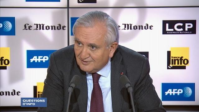 Le sénateur Les Républicains de la Vienne Jean-Pierre Raffarin