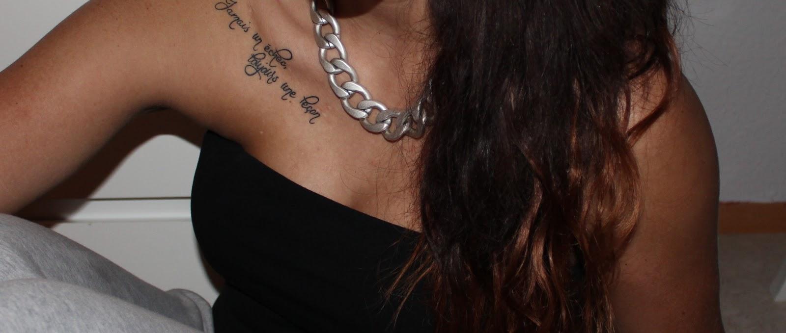 Jessie Bloggt: Tattoos & Solarium?