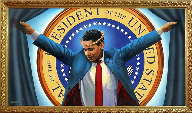 President Obama as Lord and Savior