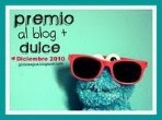 Premio Blog Ms Dulce