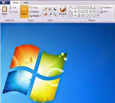 gambar Cara Bikin Screenshot Di PC Dengan program Paint