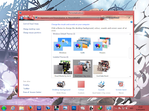 [ Theme Win 8/8.1 ] God Eater Burst 5