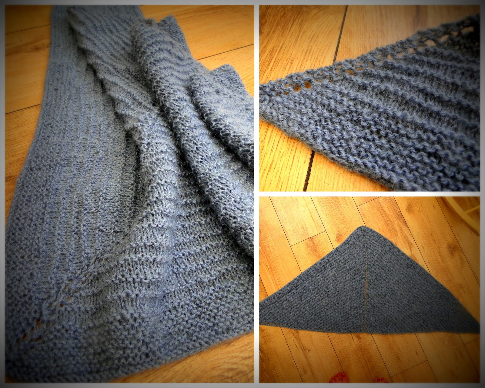 Easy Shawl Knitting Pattern Free : Rabbits patterns very easy free shawl knitting pattern