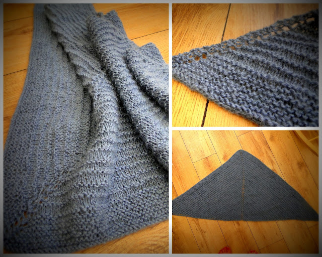 Knit Shawl free pattern