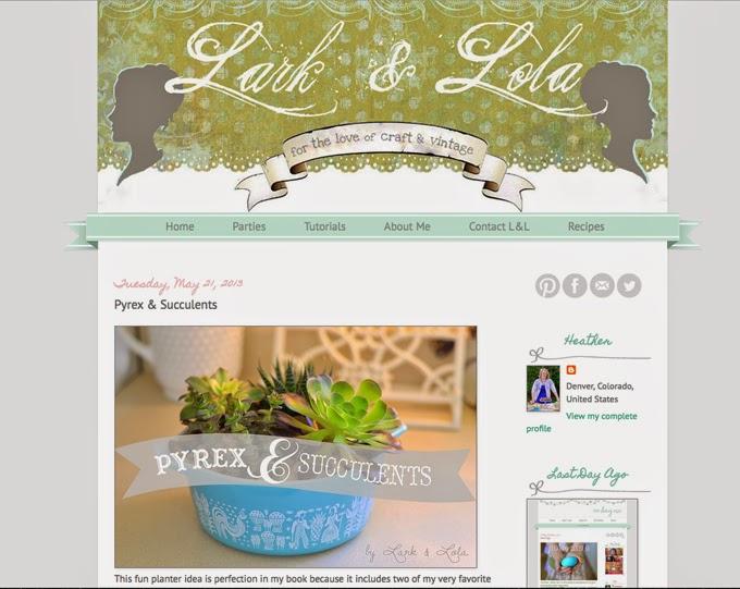 http://www.larkandlola.com/2013/05/pyrex-succulents.html