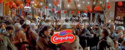 Eslogan del anuncio navideño de Campofrío 2013