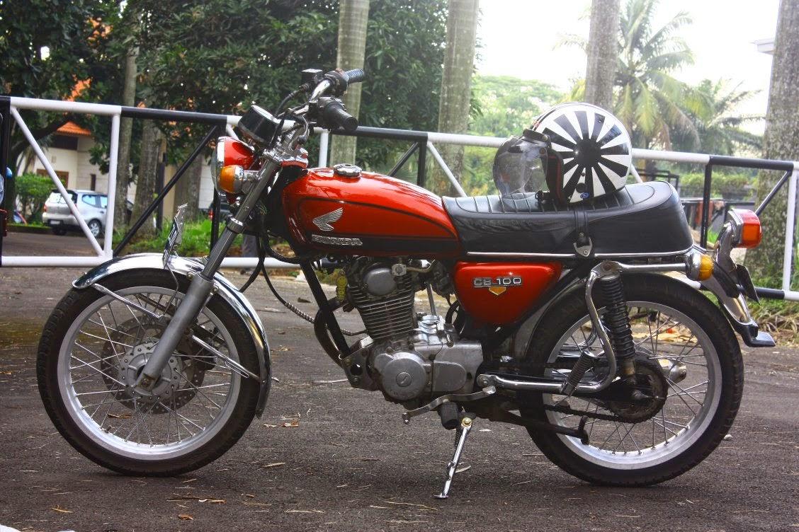 DIJUAL HONDA CB 100 TH 1979