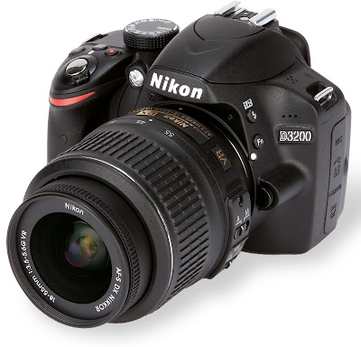 Nikon D3200 Price Specs, Beginner DSLR Camera with 24 Megapixel Sensor and Wi-Fi connection