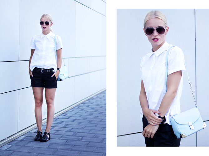 Fashion Attacks outfit ootd black white Front Row Shop