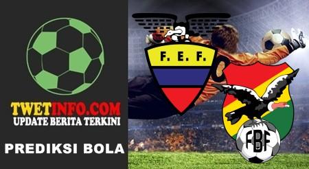 Prediksi Ecuador vs Bolivia