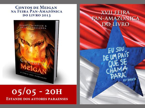 Contos de Meigan na XVII Feira Pan-Amazônica do Livro (Belém)