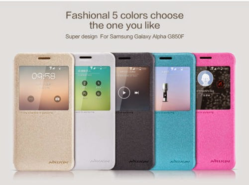 Nillkin App Smart Leather Case for Samsung Galaxy Alpha