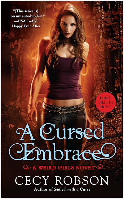 Cover Reveal & Giveaway: A CURSED EMBRACE by Cecy Robson
