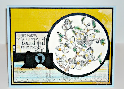 Stamps - Our Daily Bread Designs Faith, Custom Butterfly Branch Die