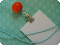 Nøglekort med keramisk perle DIY