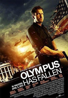Olympus Has Fallen movie, Gerard Butler, Morgan Freeman