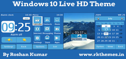 windows 10 live hd theme for asha 202 203 x3 02 300 303 c2 02 c2 03