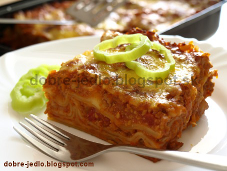 Mexické lasagne - recepty