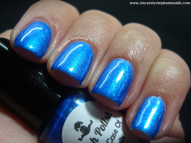 Dollish Polish Dolly Does Polish A Bad Case Of Blueballs