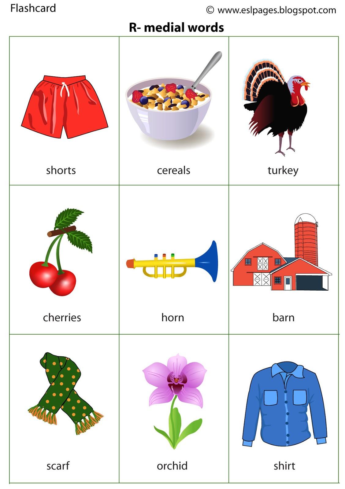 r articulation worksheets