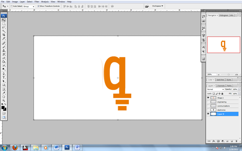 how to make a simple logo in photoshop cs5