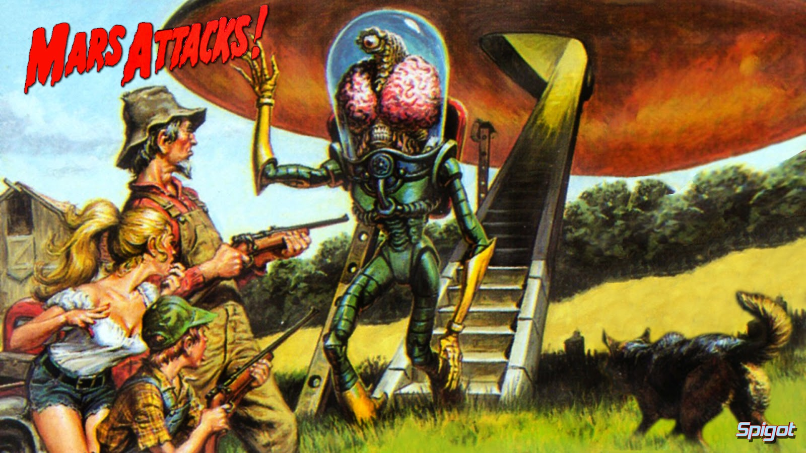 Realms Of Chirak Who Knew GURPS Mars Attacks Is A