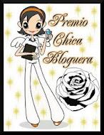 4ºPremio ChicaBloguera ♥