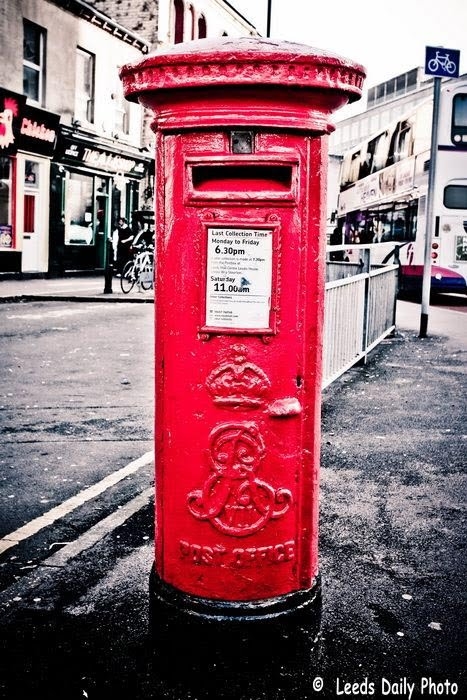 Edward VII Post Box Leeds