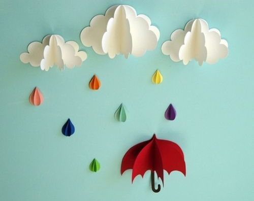 Idee di carta: nuvole