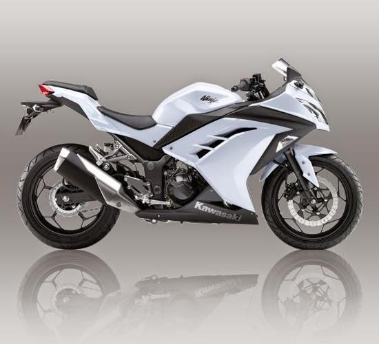 New Ninja 250 FI Putih