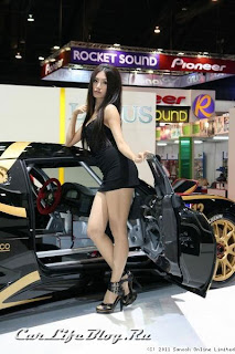 Cars And Girls 2011 Bangkok Motor Show Booth Girls