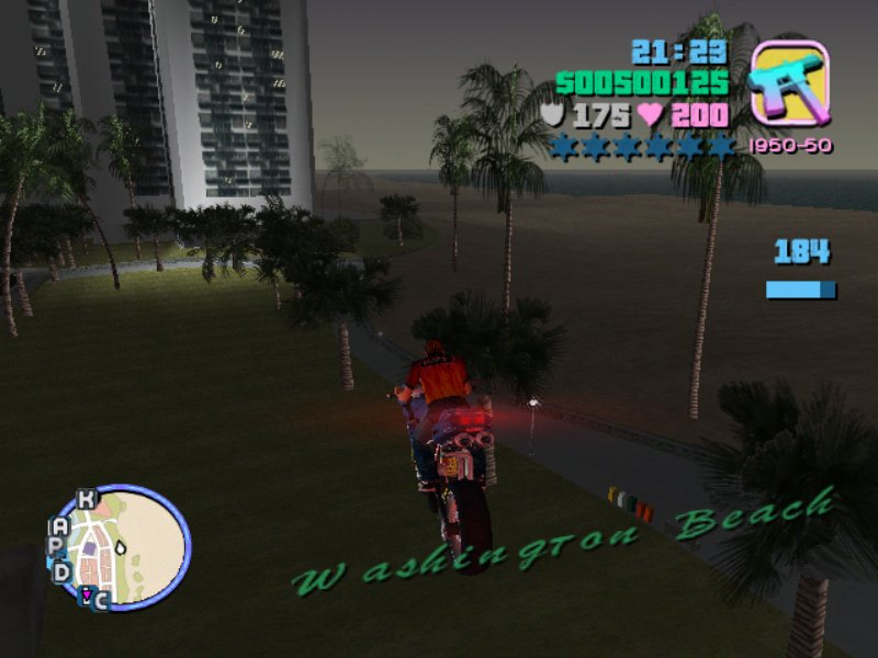 GTA Vice City - Fast & Furious Mod Game Screenshot