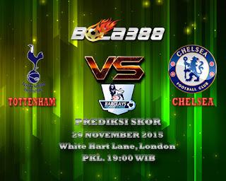 Agen Bola Terpercaya : Prediksi Skor Tottenham Hotspur Vs Chelsea 29 November 2015