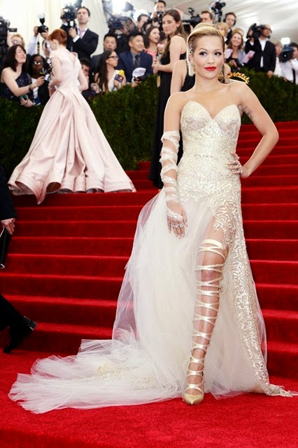 Red Carpet Met Gala 2014 rita ora