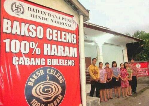 Bakso Celeng 100% Haram