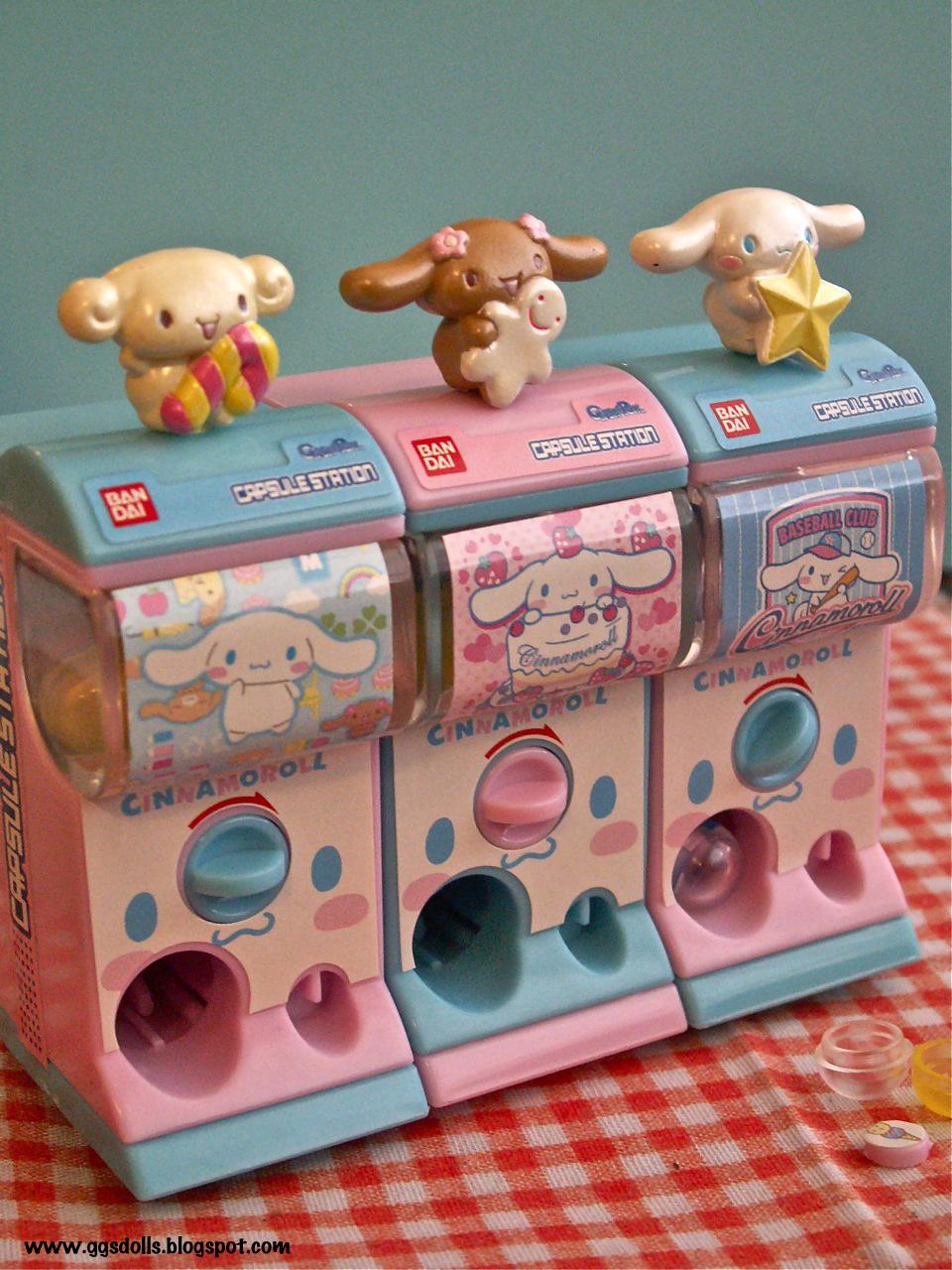 Japanese Capsule Toys : Ggsdolls gashapon gatcha mini capsule toy machines