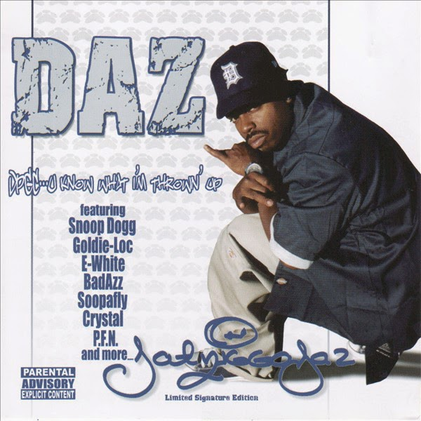 Daz Dillinger - U Know What I'm Throwin Up Cover