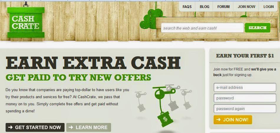 Survey online CashCrate