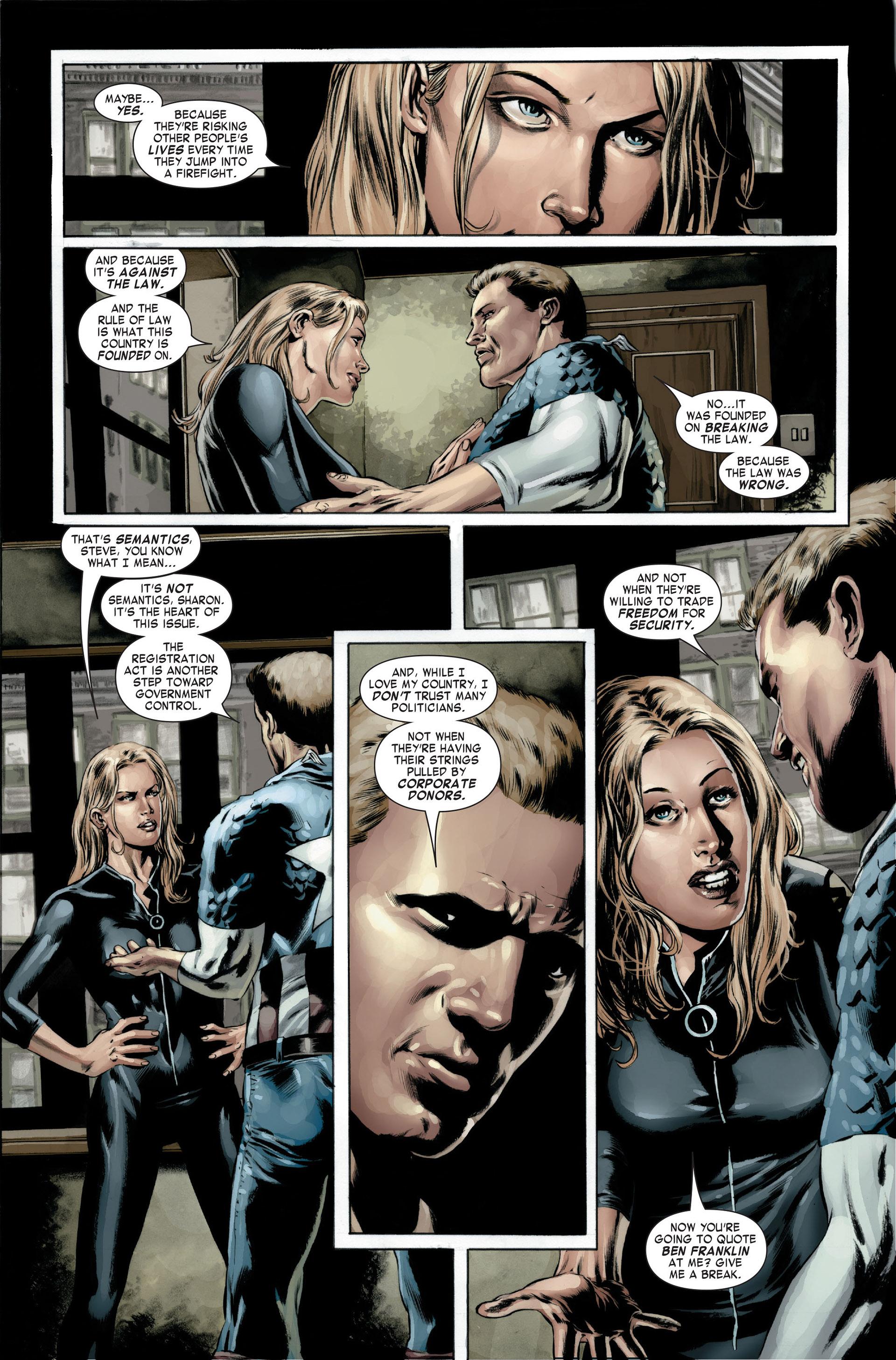 Captain America (2005) Issue #22 #22 - English 15