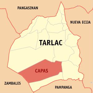 TARLAC CITY: Capas Tarlac